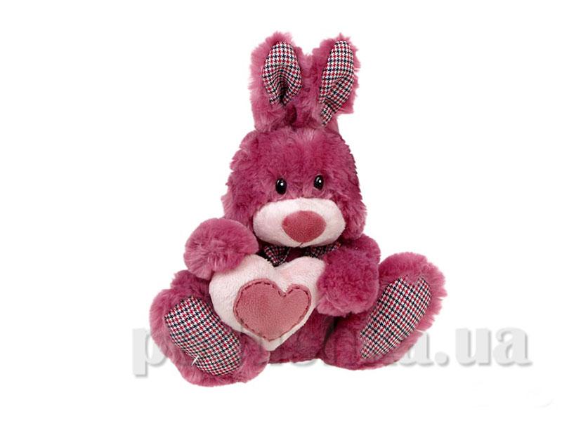 Зайчик Паки темно-розовый ТМ Левеня