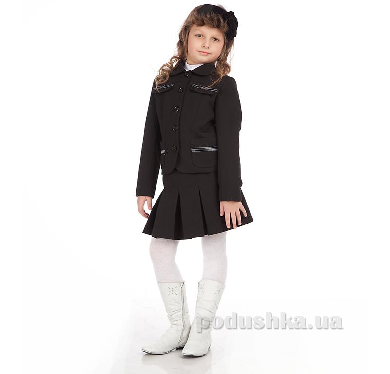 Жакет для девочки Panda ПА-00530-11 черный