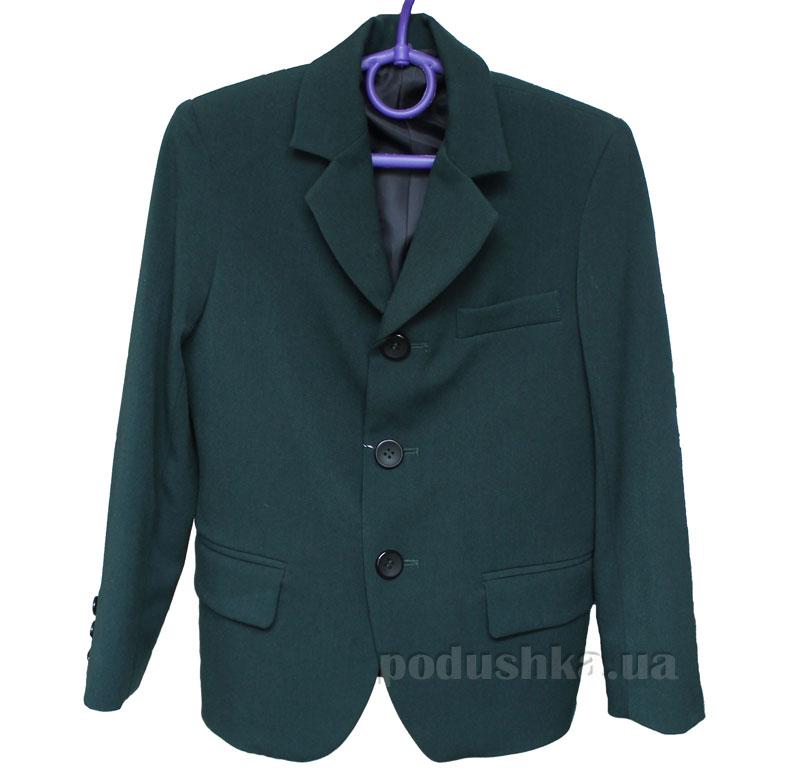 Пиджак для мальчика тиар Промiнь ВМ-0915 зеленый
