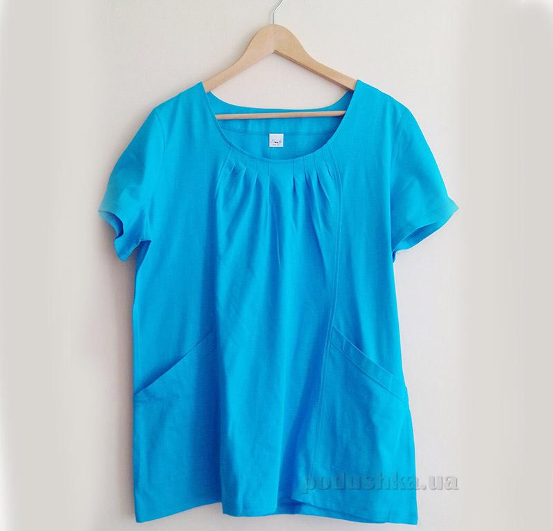 Женская футболка Senti 1205261 синий