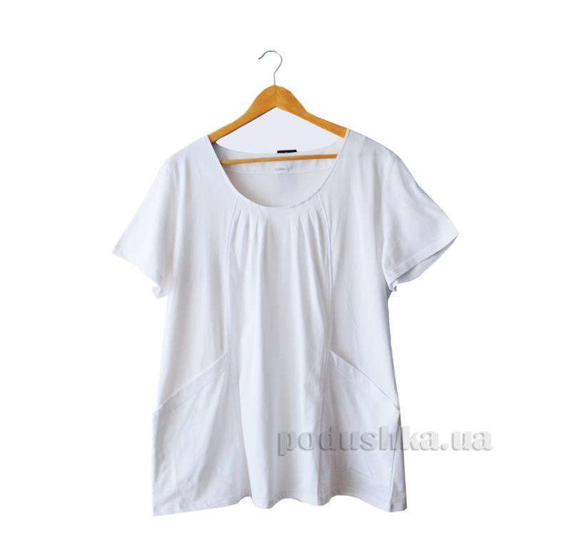 Женская футболка Senti 1205261 белая