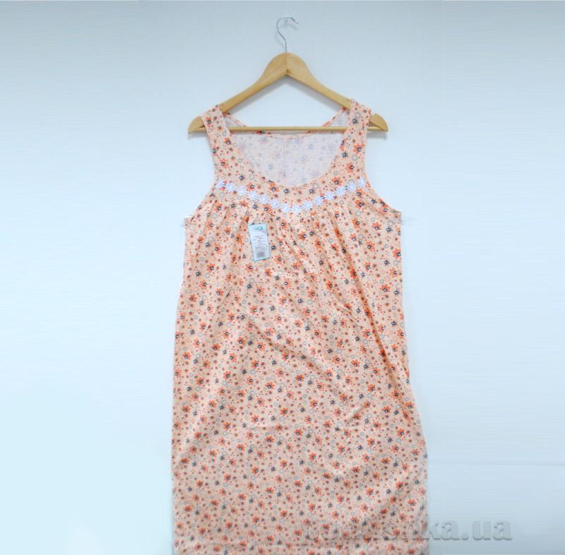 Женская ночная рубашка МТФ 204 персиковая