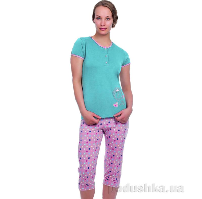 Женская пижама Sabrina 51477 голубая
