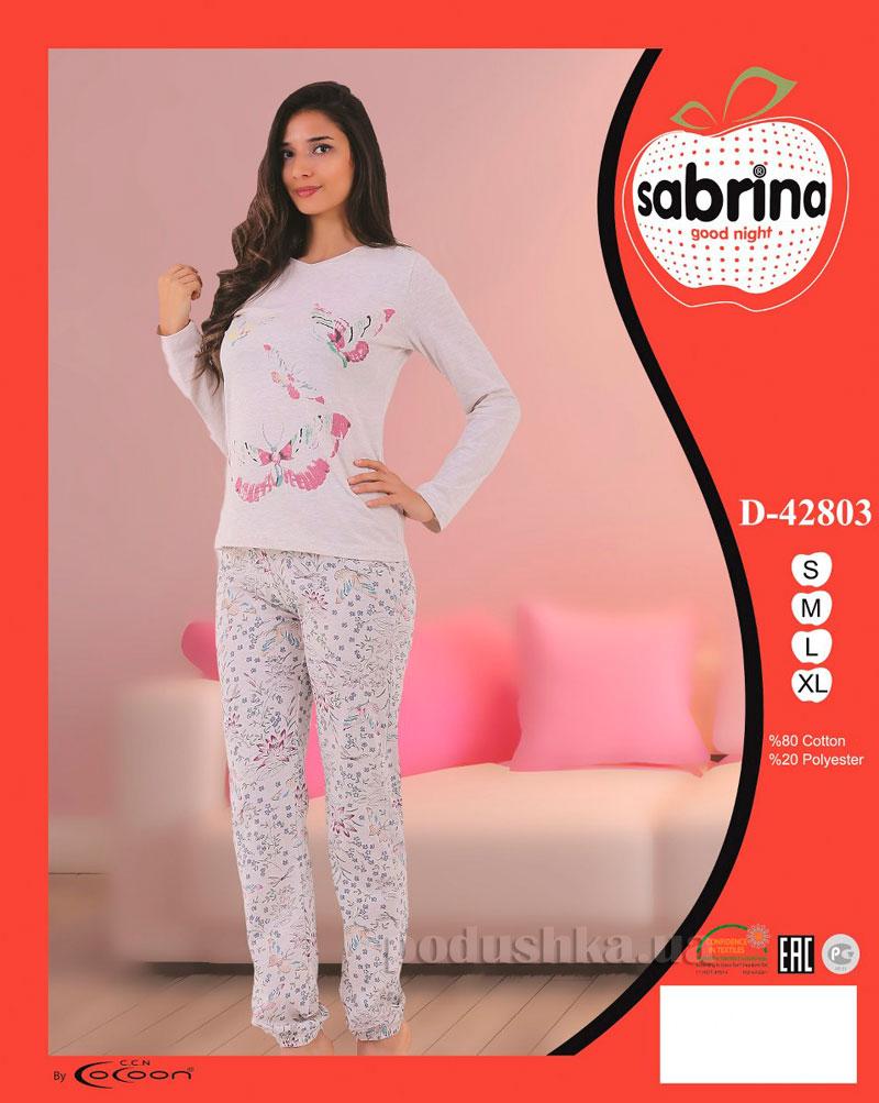 Женская пижама Sabrina 42803