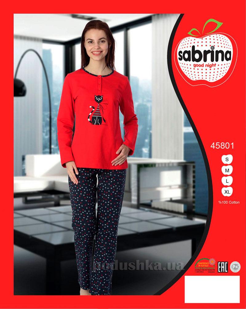 Женская пижама Sabrina 45801
