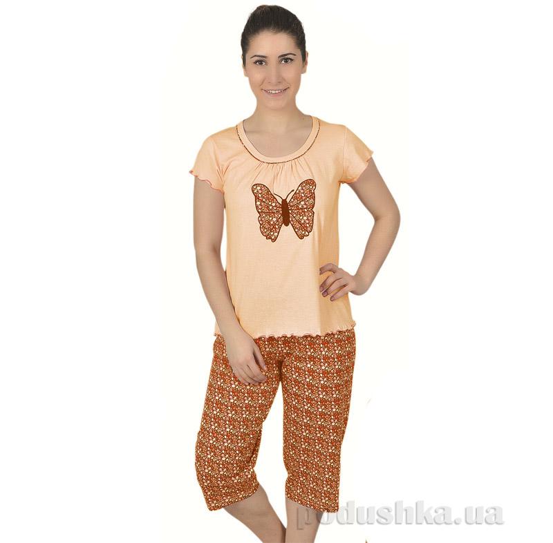 Женская пижама Sabrina 51370 персиковая