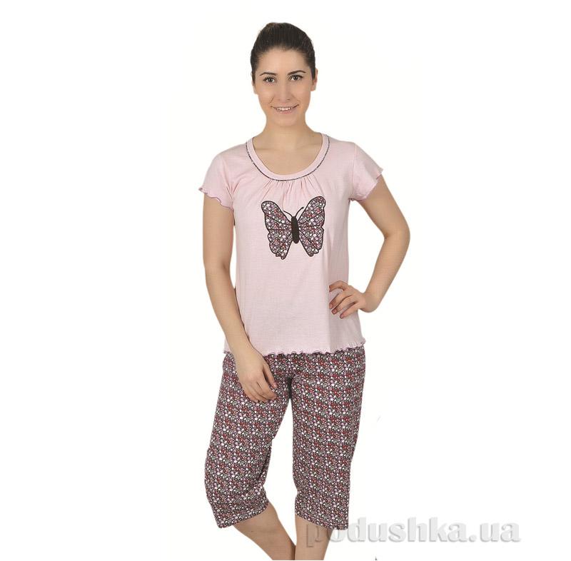 Женская пижама Sabrina 51370 розовая