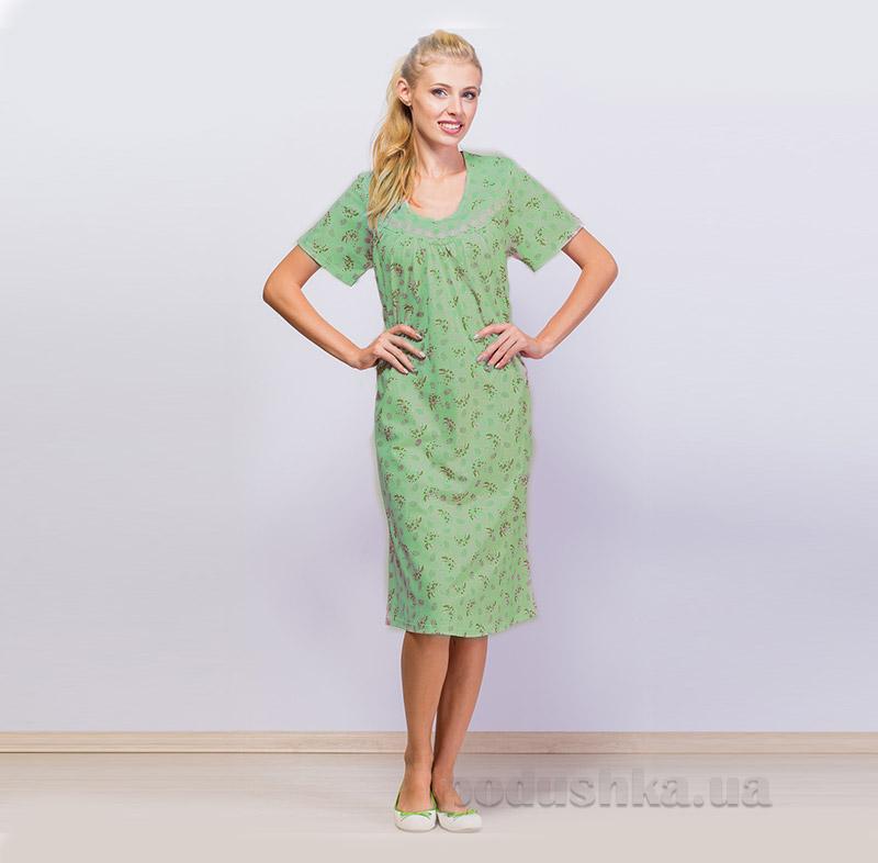Женская сорочка МТФ 196/237 зеленая