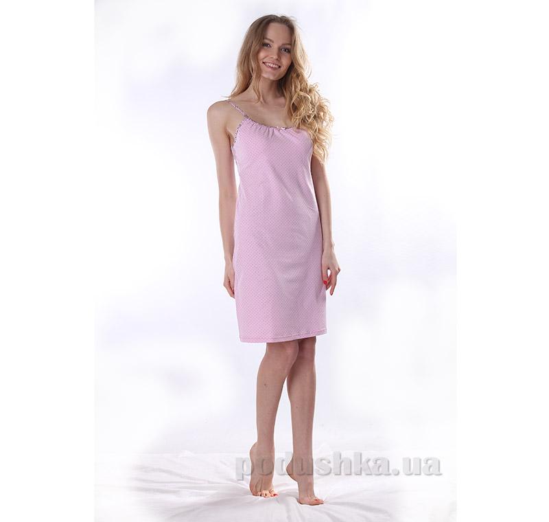 Женская сорочка VVL-TEX 308-1 розовая