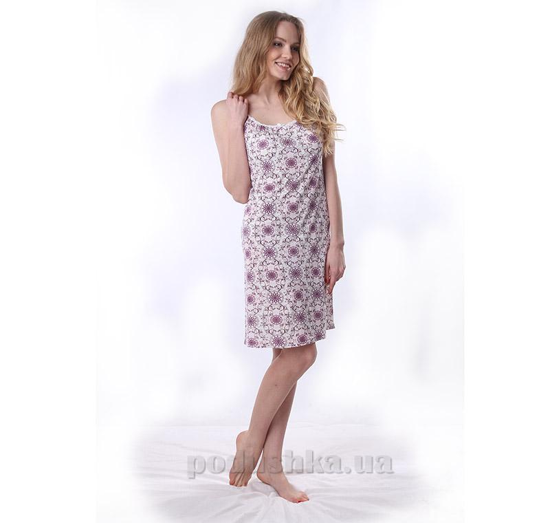 Женская сорочка VVL-TEX Сирень 308