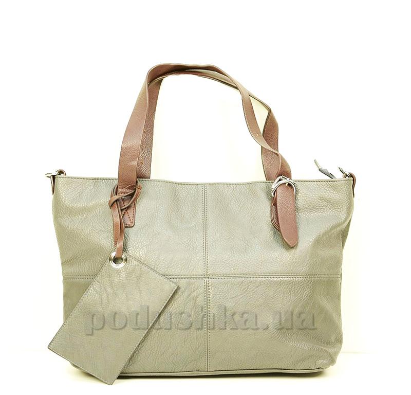Женская сумка Le bailu 1085 серая