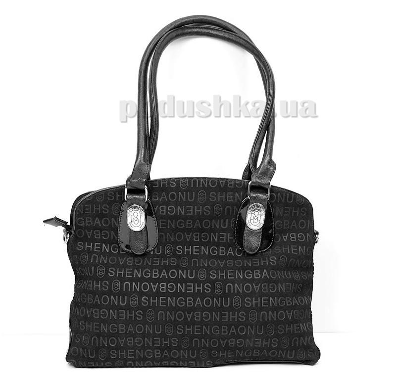 Женская сумка Maroon P013 черная