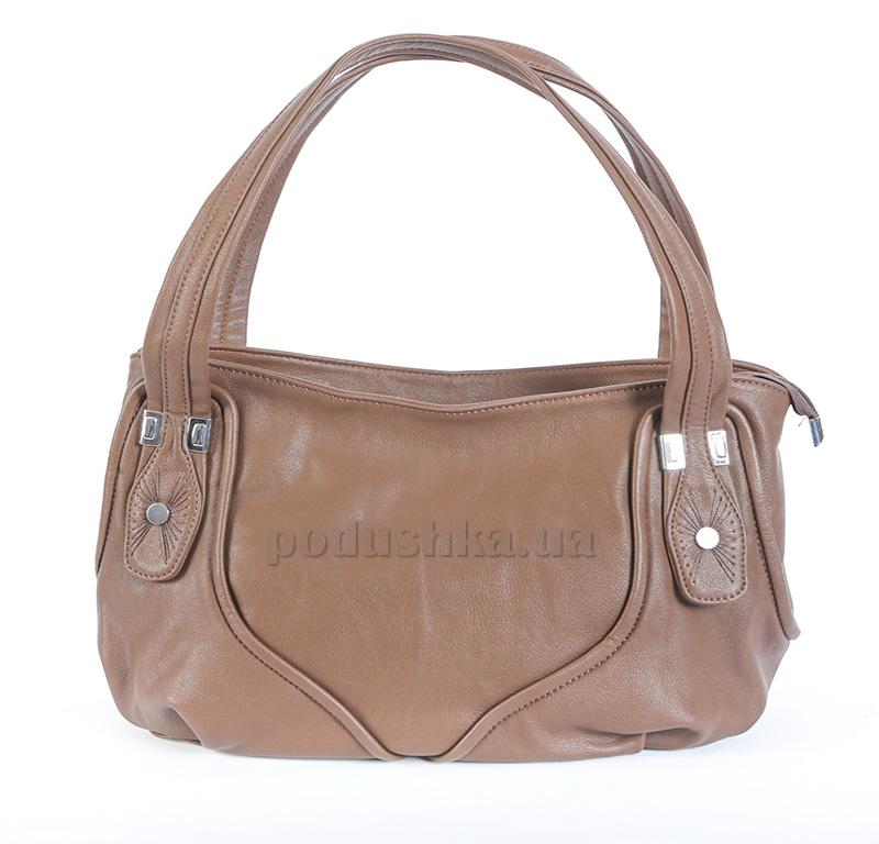 Женская сумка Vinyumao 4146-Н20 коричневая