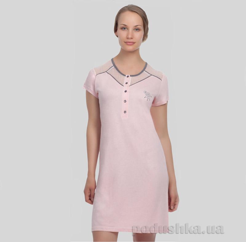 Женская туника Sabrina 12520 розовая