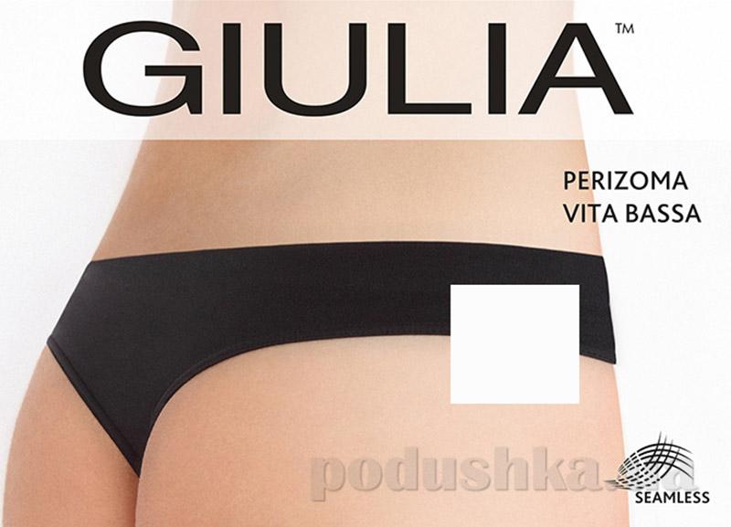 Женские белые трусики стринг заниженная талия Perizoma Vita Bassa Giulia bianco