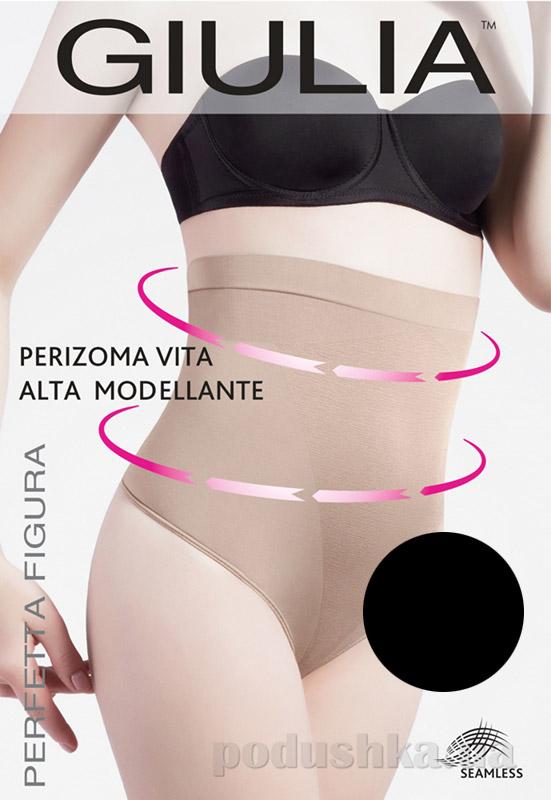 Женские черные моделирующие трусики стринг Perizoma Vita Alta Modellante Giulia nero