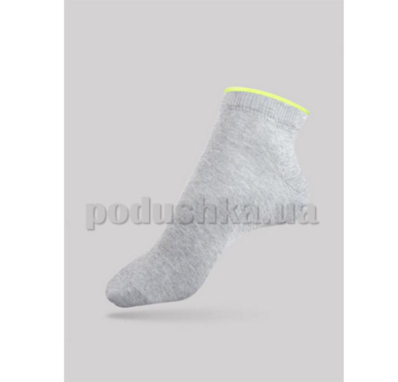 Носки женские Active декор резинка Conte 12С-32СП 035 светло-серые