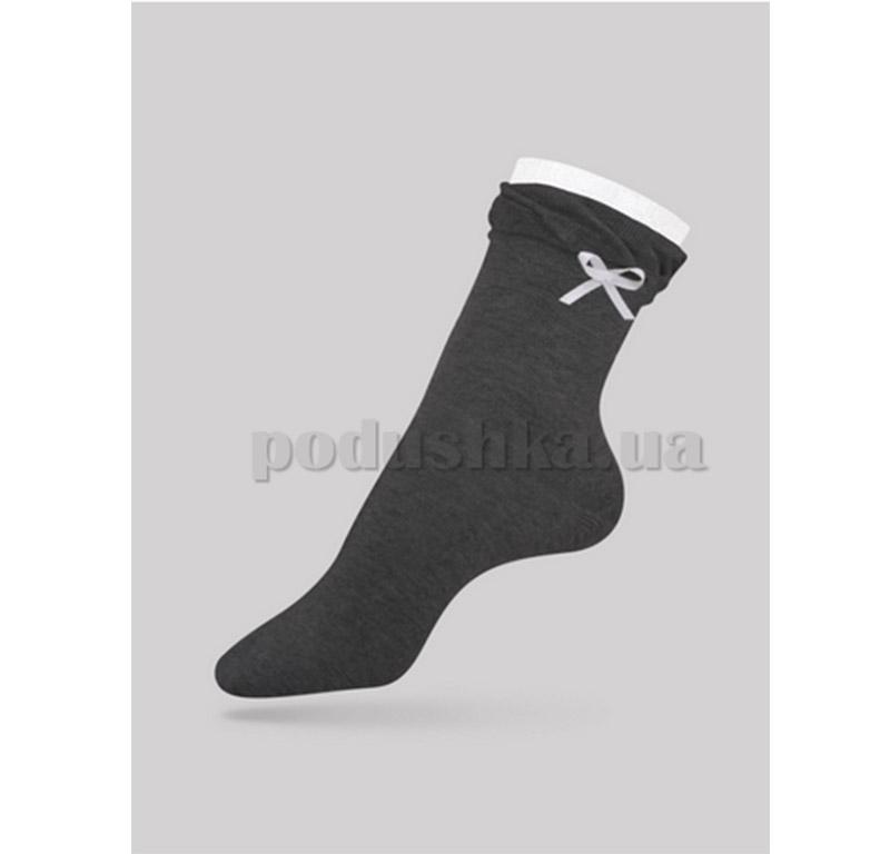 Женские носки Comfort декор Conte 12С-33СП 037 темно-серые