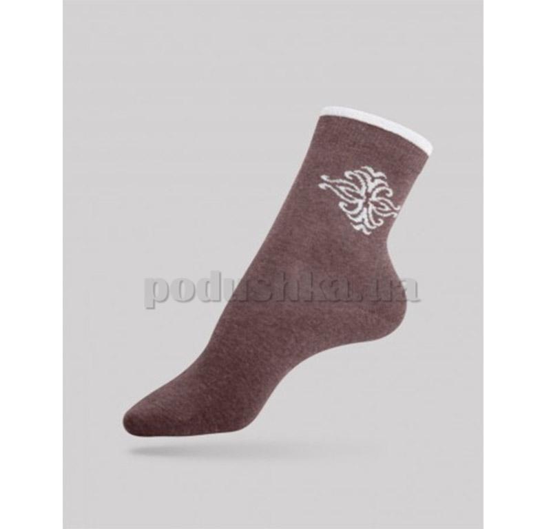 Женские носки Comfort стразы люрекс Conte 12С-34СП 036 какао
