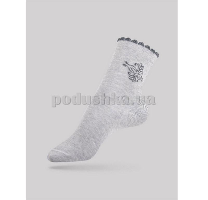 Женские носки Comfort стразы люрекс Conte 12С-34СП 036 серые