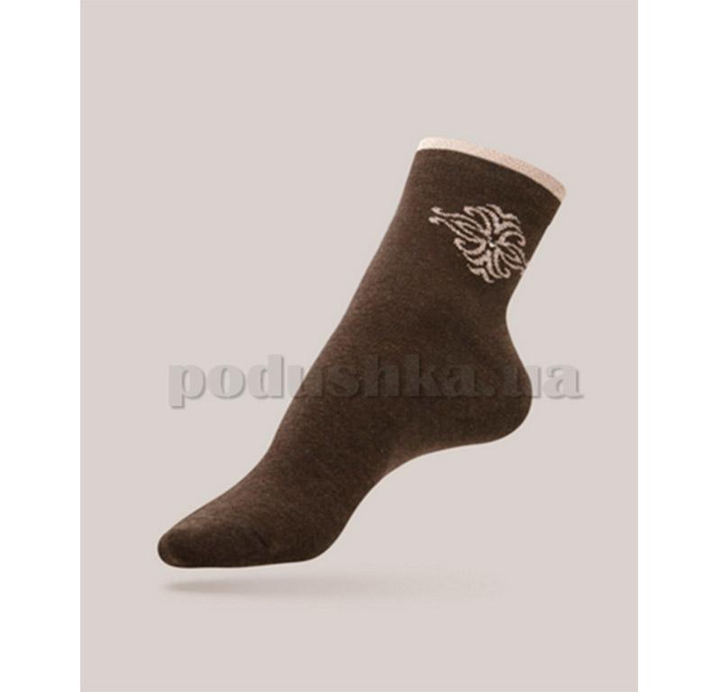 Женские носки Comfort стразы люрекс Conte 12С-34СП 036 шоколад