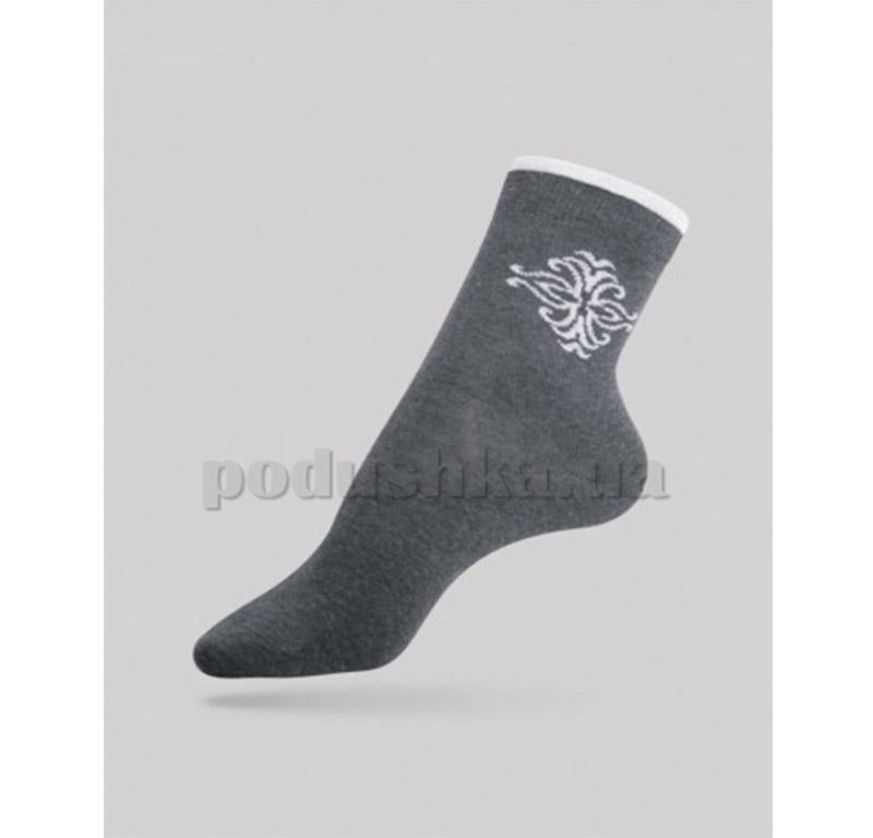 Женские носки Comfort стразы люрекс Conte 12С-34СП 036 темно-серые