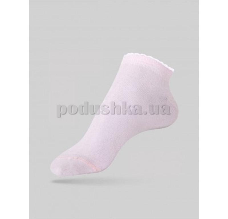 Женские носки с пикотом Active Conte 12С-45СП 041 светло-розовые
