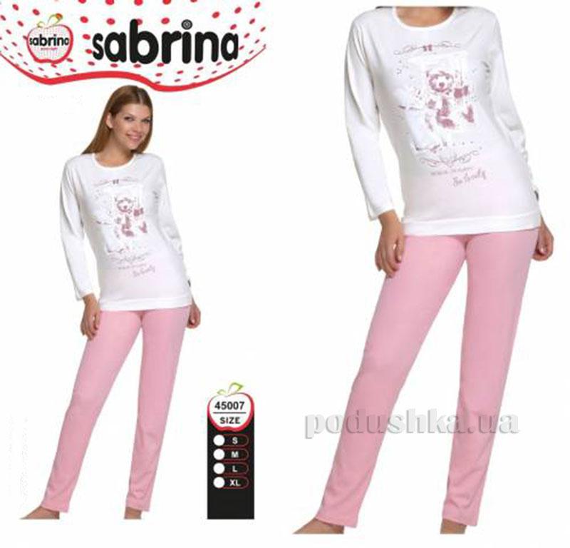 Женский домашний костюм Sabrina 45007