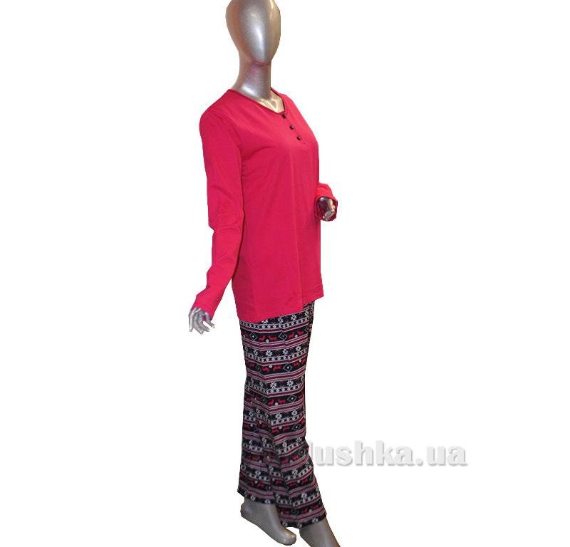 Женский домашний костюм Sabrina 45068 розовый