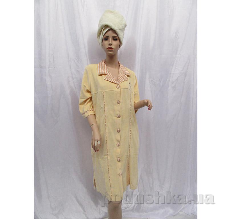 Женский халат на пуговицах Arya 13075