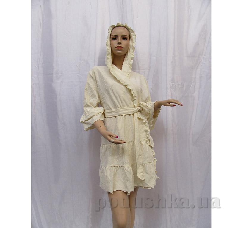 Женский халат Шальке Arya 13110 светло-кремовый L/XL  ARYA