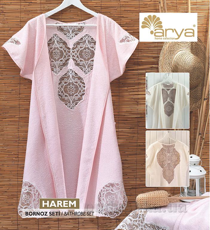 Женский халат TR1000702 Harem S/M кремовый ARYA