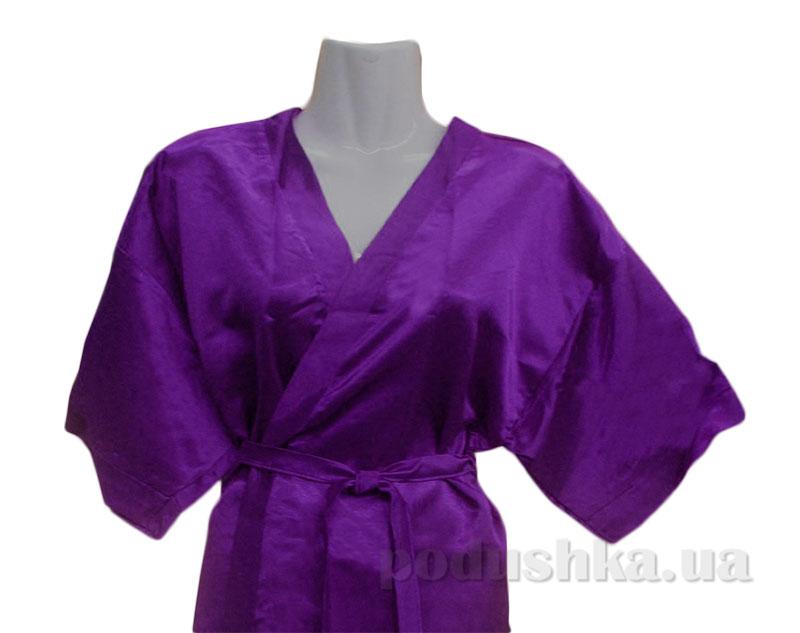 Женский халат-кимоно Руно 981У фиолетовый