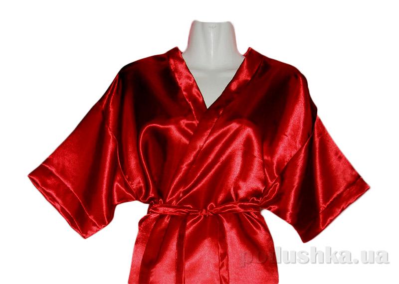 Женский халат-кимоно Руно 981У красный