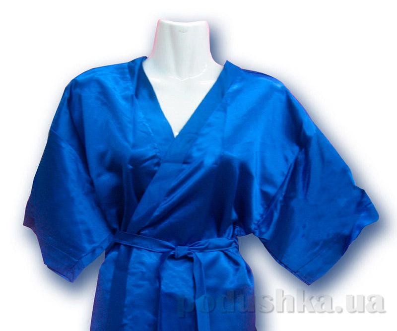 Женский халат-кимоно Руно 981У синий