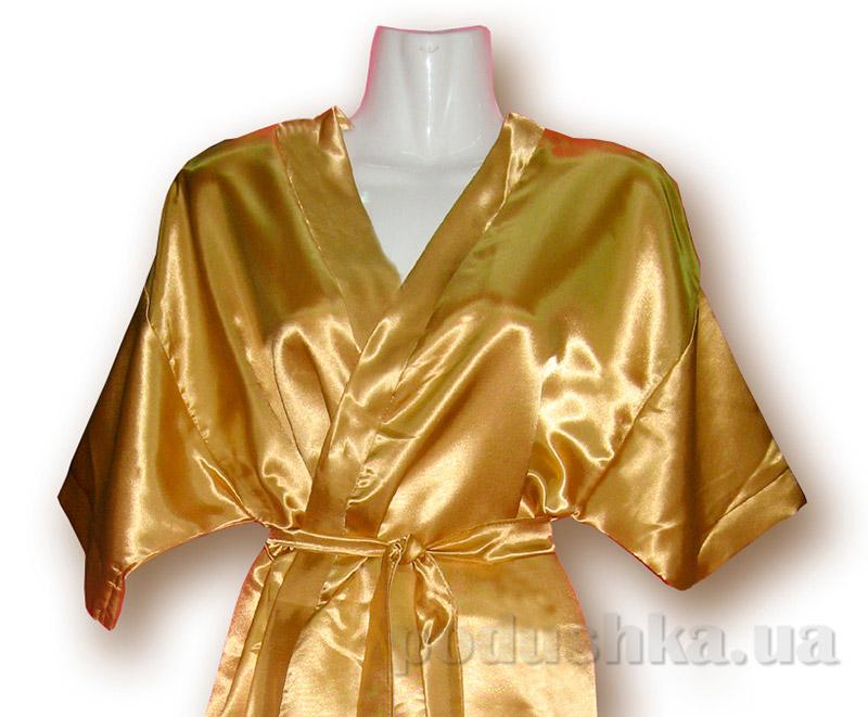 Женский халат-кимоно Руно 981У желтый