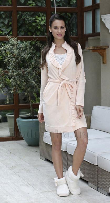 Женский комплект халат и ночная рубашка Hays 6022