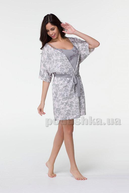 Женский комплект халат и ночная рубашка Hays 6563 купить в Киеве ... 6bc7f5a5437d1