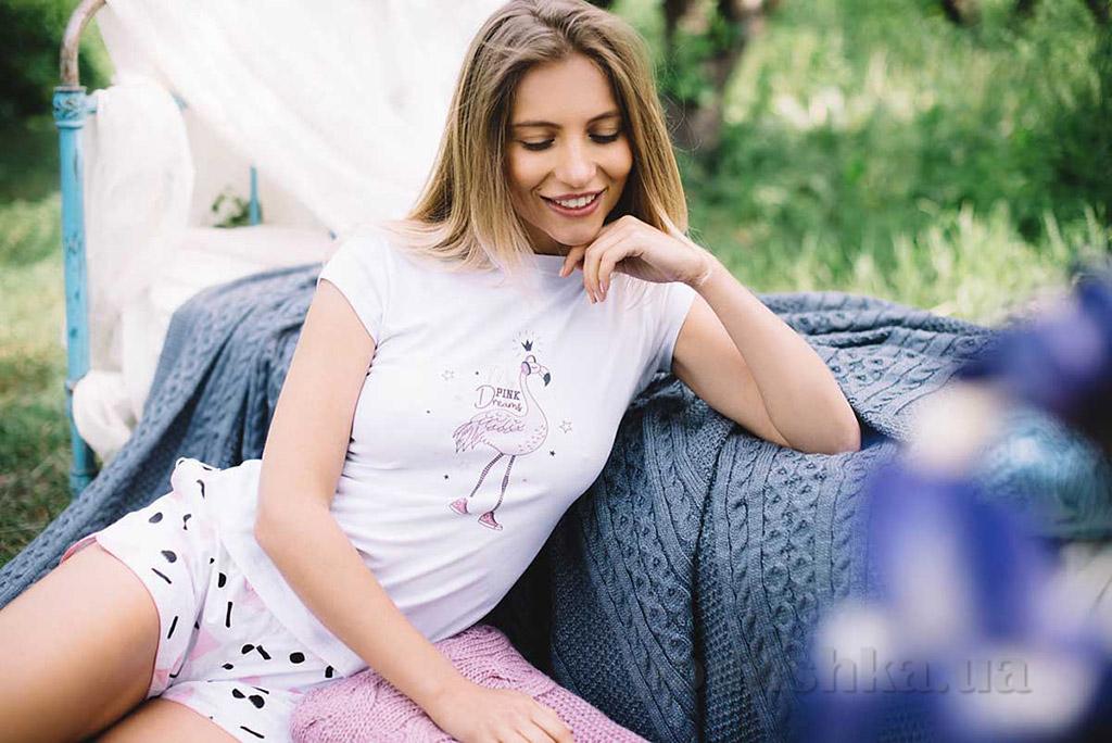 Женский комплект Sweet Home 1158 розовый