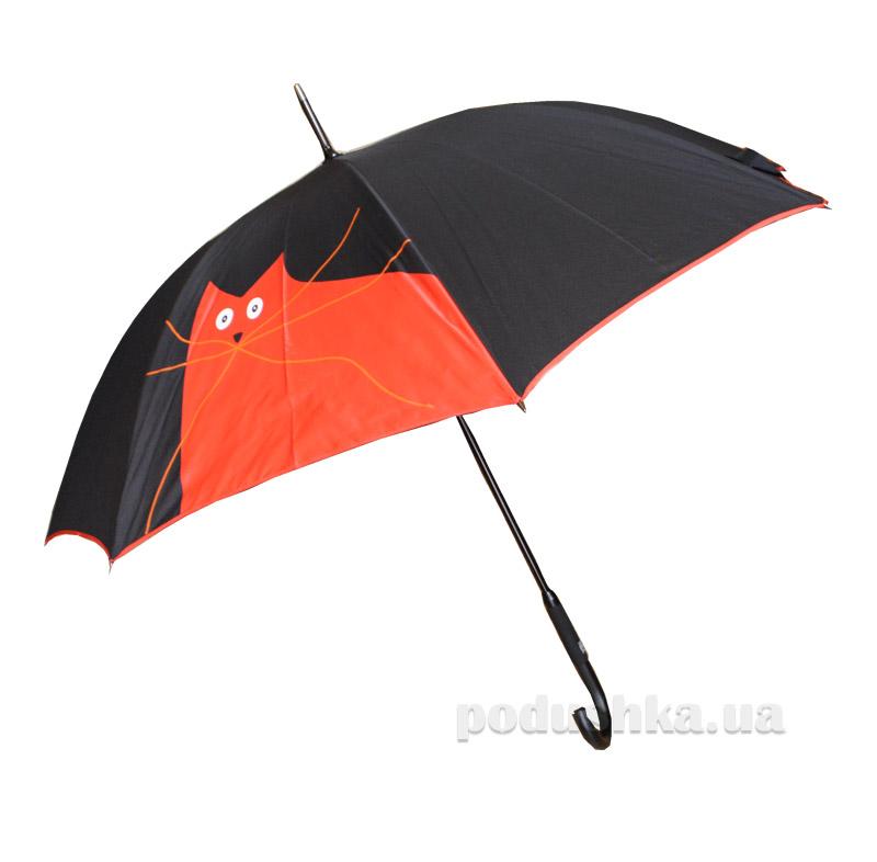 Женский зонт-трость Zest 61661 Nex Котик