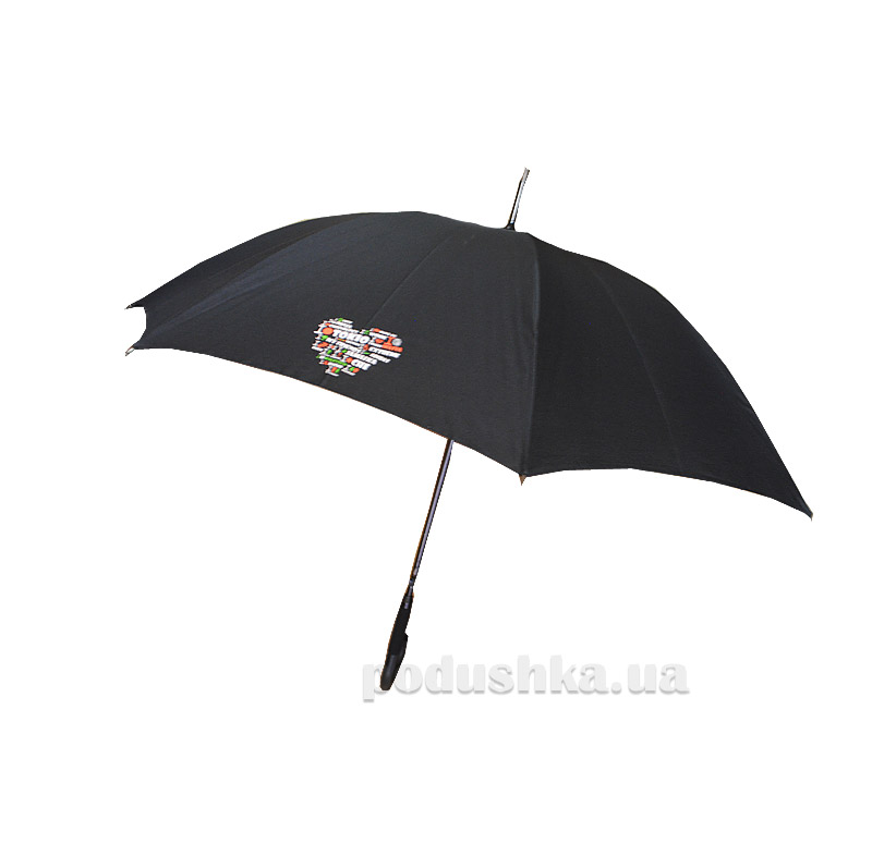 Женский зонт-трость Zest 61661 Nex Сердце