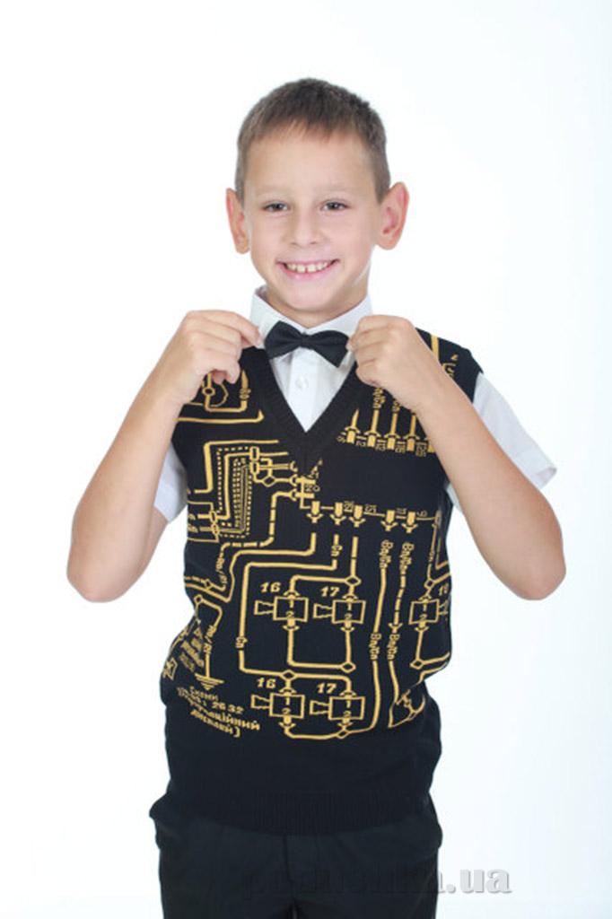 Жилет для мальчика ОТМ Дизайн 2940 схема