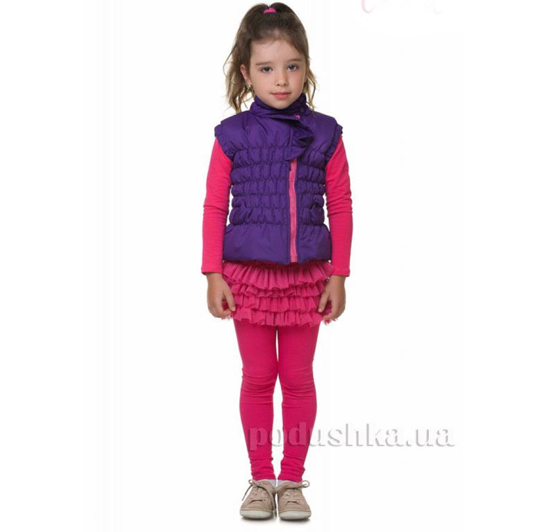 Жилетка утепленная Kids Couture 16-06 фиолетовая