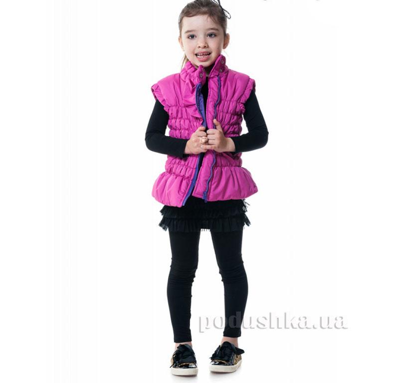 Жилетка утепленная Kids Couture 16-06 розовый