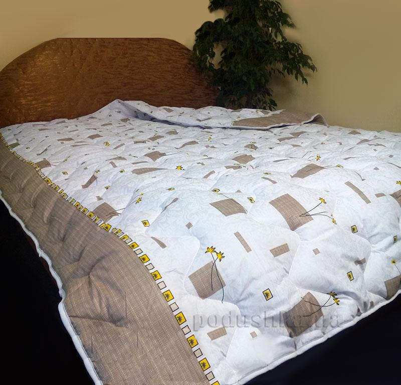 Зимнее антиаллергенное одеяло Билана Гвоздика в бязи