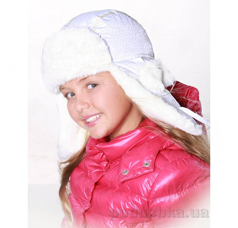 Зимняя шапка Бабасик Марго белый