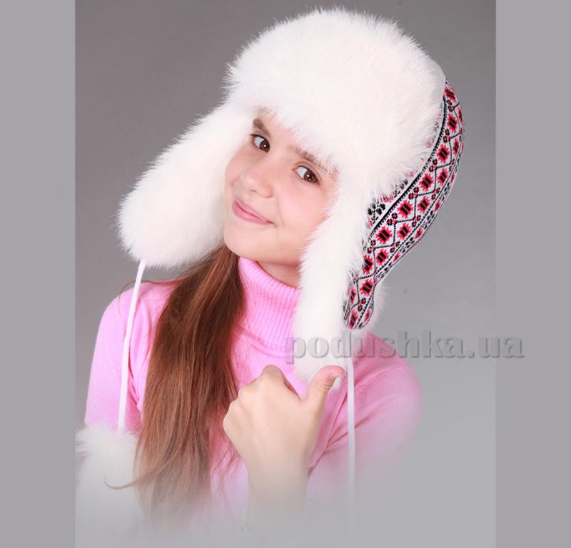 Зимняя шапка Бабасик Власта вышиваночка