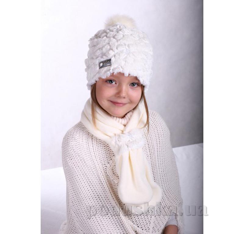 Зимняя шапка и шарф Pupill Bianka 61 l