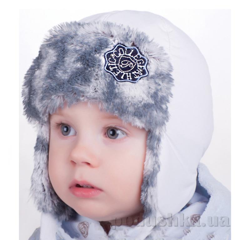 Зимняя шапка-ушанка Pupill Pascal