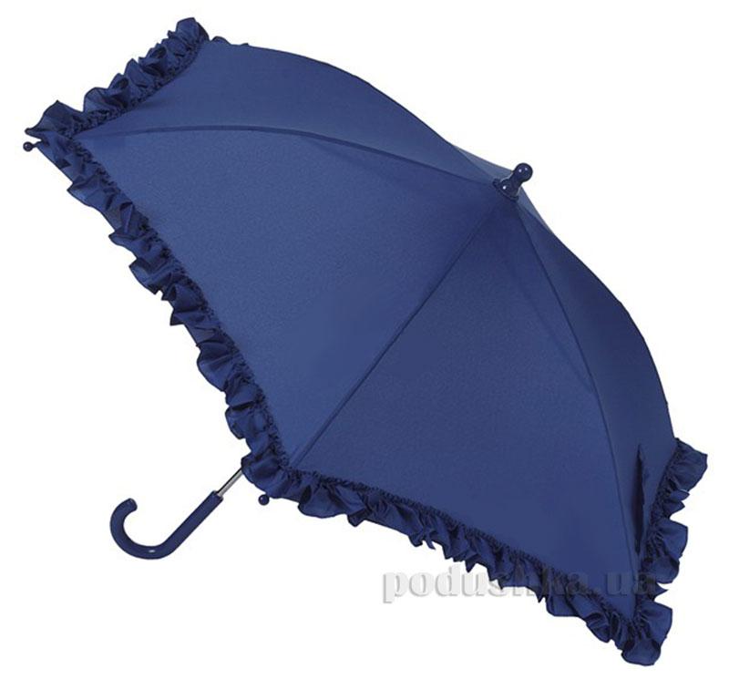 Зонт механический с рюшами Airton 1552 синий